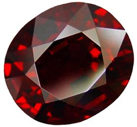 Камень красного цвета